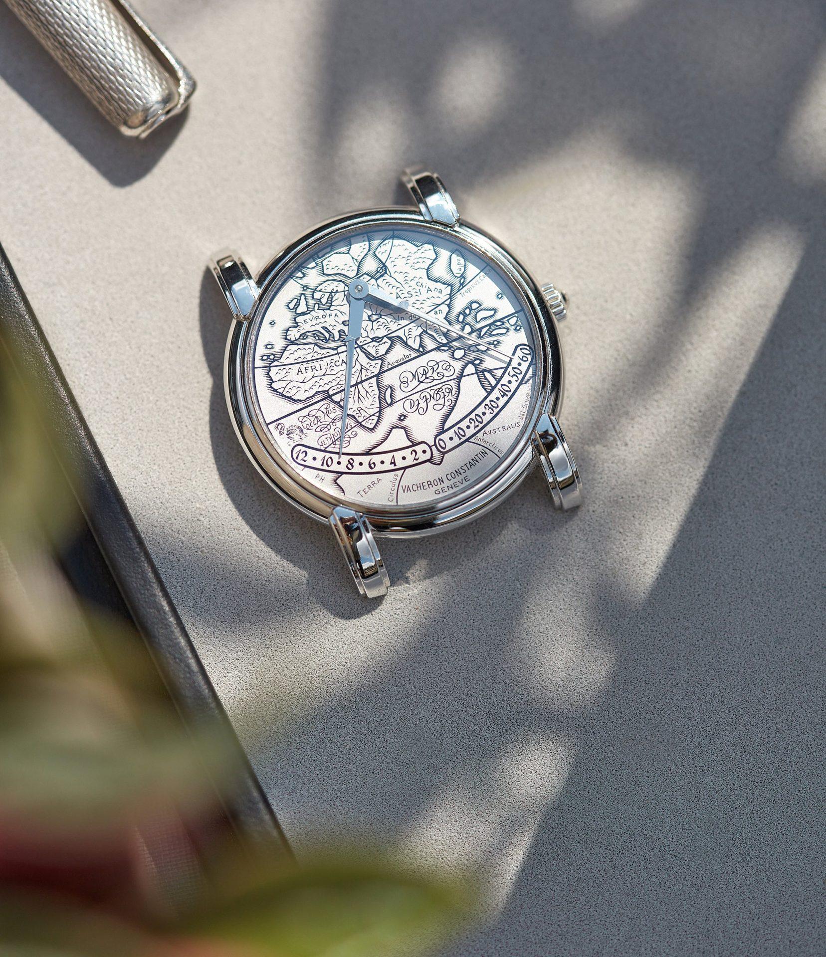 Vacheron Constantin Mercator in platinum double retrograde watch for A Collected Man London