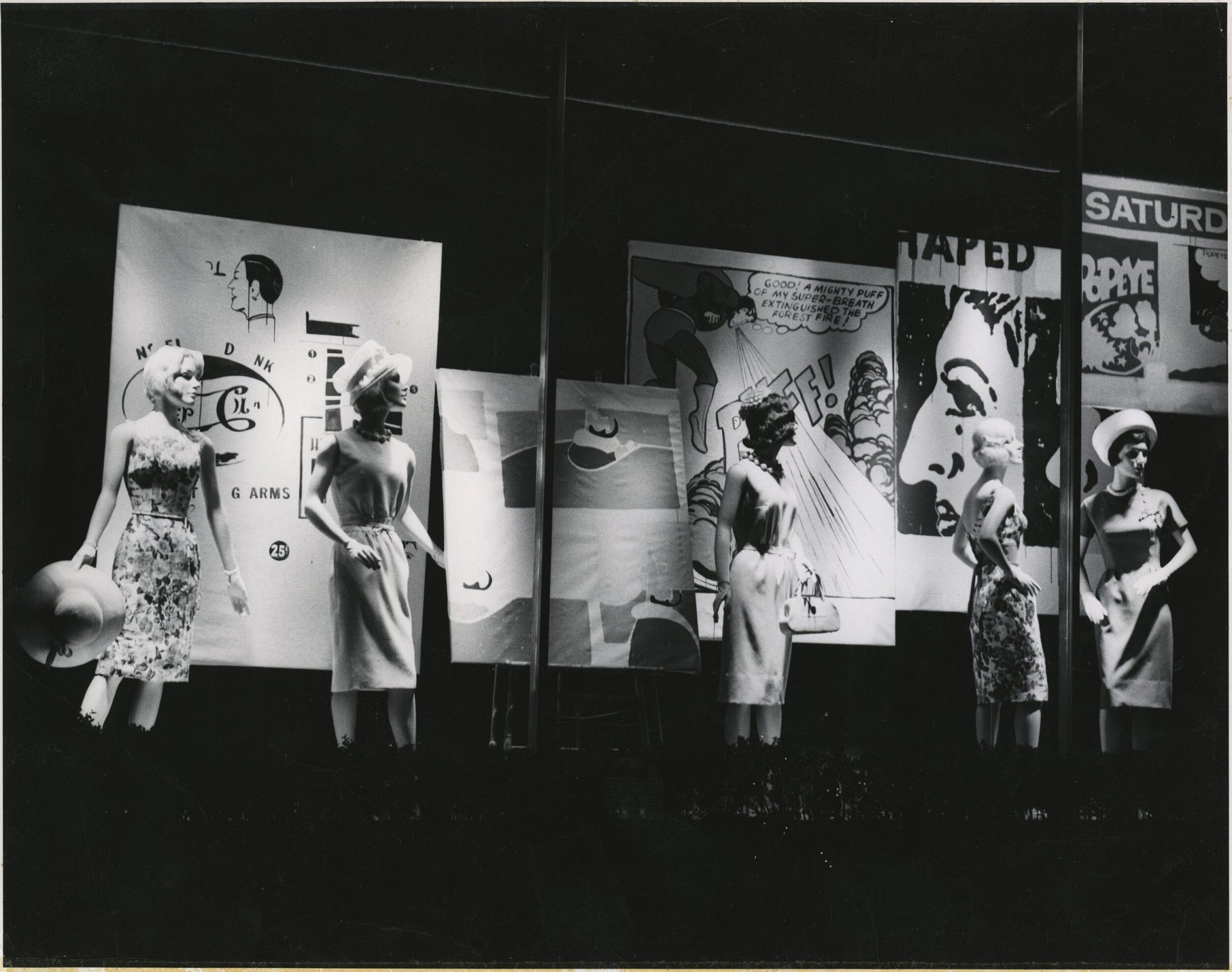 Bonwit Teller display window in Understanding Andy Warhol as a collector for A Collected Man